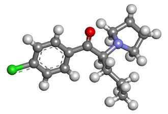 4-Chloro-alpha-pyrrolidinovalerophenone - Image: 4c pvp 3d