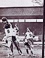4e Jeux mondiaux féminins d'août 1934, l'équipe de France féminine de basket-ball (victorieuse ici de la Pologne).jpg