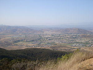 4S Ranch, California - 4S Ranch from Black Mountain summit