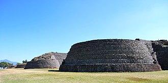 Michoacán - Yacata pyramids of Tzintzuntzan