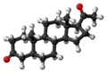 5alpha-Dihydroprogesterone 3D ball.png
