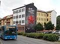 66B jelzésű autóbusz, Topánka utca, 2018 Pesterzsébet.jpg