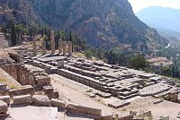 Temple of Apollo at Delphi