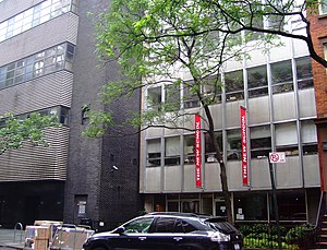 The New School - The New School's building on West 12th Street