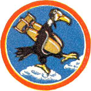 772d Expeditionary Airlift Squadron - World War II 772d Bombardment Squadron emblem