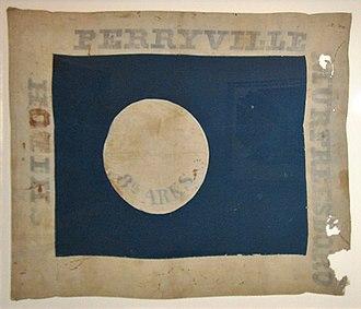8th Arkansas Infantry Regiment - Image: 8th Arkansas, Hardee Pattern Flag