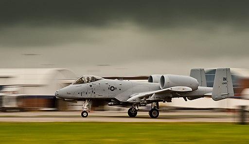 A-10C speeds down runway 150707-F-GK926-110