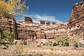 A130, Canyonlands National Park, Utah, USA, Chocolate Drops from the Maze, 2004.jpg