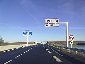 Image illustrative de l'article Autoroute A65 (France)