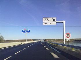 Carte Routiere Bordeaux Pau.Autoroute A65 France Wikipedia