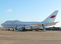 A9C-HAK - B744 - Bahrain Amiri Flight