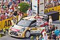 ADAC Rallye Deutschland 2013 - Fahrerpräsentation auf dem Roncalliplatz-4678.jpg