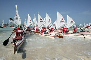 Abu Dhabi Adventure Challenge - Sea kayaking will be amongst the challenges the teams will face