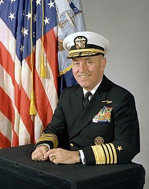 USS Coronado (AGF-11) - Image: ADM Sylvester Foley