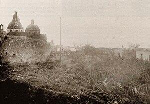 Siege of Querétaro - Republican militiamen entering Queretaro