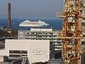 AIDAcara anchored in Tallinn Bay Kesklinn Tallinn 1 October 2020.jpg