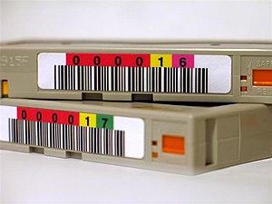 Advanced Intelligent Tape - AIT tapes.
