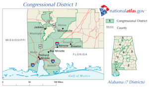 United States House of Representatives elections in Alabama, 2006 - Image: AL01 110