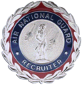 Air National Guard Recruiter Badges