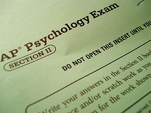 English: The AP Psych Test, Section II Free Re...