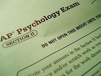 AP Psychology - Free response section booklet