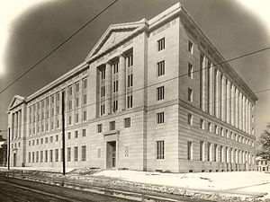 Richard Sheppard Arnold United States Post Office and Courthouse - The Little Rock US Post Office and Courthouse as it appeared in 1932.