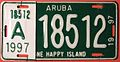 ARUBA 1997 -LICENSE PLATE - Flickr - woody1778a.jpg