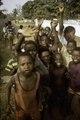 ASC Leiden - F. van der Kraaij Collection - 01 - 013 - Cheering Liberian youth posing for the camera man - Monrovia, Old Road, Montserrado County, Liberia, 1976.tiff