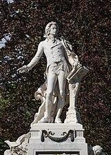 AT 20137 Mozartdenkmal, Burggarten, Vienna-5014.jpg