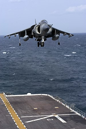 VTOL - The Harrier Jump Jet, one of the most famous and successful fixed-wing single-engine VTOL aircraft
