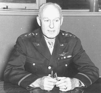 George Brett (general) - Lieutenant General George Brett in Australia on 18 March 1942, the day after his appointment as Deputy Supreme Commander, Southwest Pacific Area (SWPA) and Commander of Allied Air Forces, SWPA.