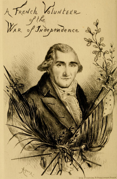 A French Volunteer of the War of Independence - frontispiece.png