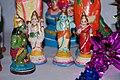 A Ramayana scene at a Golu dolls display, Hanuman, Lakshmana, Rama, Sita.jpg