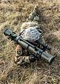 A Soldier tests the M3E1 Multi-role Anti-armor Anti-personnel Weapon System 03.jpg