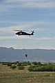 A U.S. Army UH-60 Black Hawk helicopter assigned to the Colorado Army National Guard provides firefighting assistance for the Black Forest Fire in El Paso County, Colo., June 12, 2013 130612-Z-WF656-004.jpg