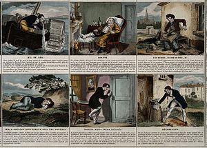 A broadsheet illustrating 24 maladies and giving remedies. C Wellcome V0010547.jpg