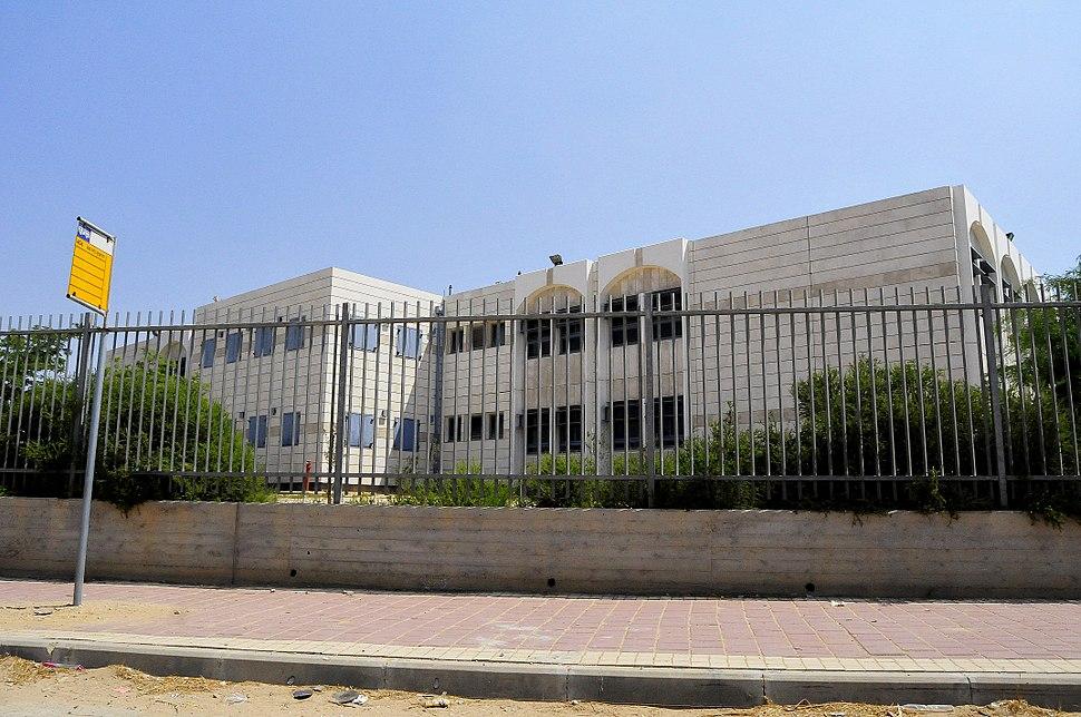 A local school in Tirabin al-Sana