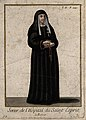 A nun from the Order and Hospital of St. Esprit. Coloured li Wellcome V0015186EL.jpg