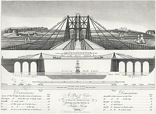 Pont Suspendu De Menai Wikip 233 Dia