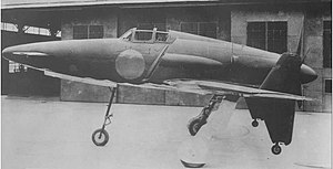 Kyushu J7W - Prototype of the completed J7W in 1945.