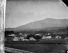 A view of Dolwyddelan from from Penbryn Rock NLW3361383.jpg