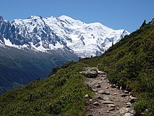 mont blanc mountain facts