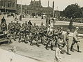 Aankomst van het detachement van het 13de regiment infanterie aan het station op – F40341 – KNBLO.jpg