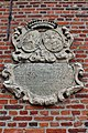 Aarschot - Sint-Elisabethgasthuis - Cartouche op de oude ziekenzalen.jpg