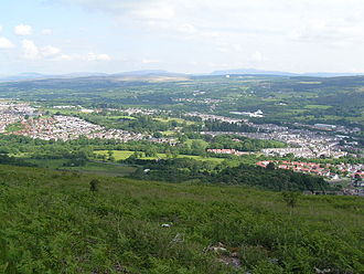 Aberdare - Image: Aberdare View from road to Ferndale