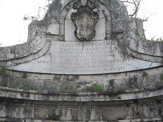 Fontana dellAcqua Acetosa (Rome)