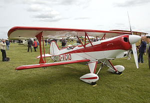 Paul Poberezny - The Acro Sport II home-built biplane, designed by Paul Poberezny