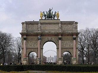 Pierre-François-Léonard Fontaine - Arc de Triomphe du Carrousel, Paris, 1810