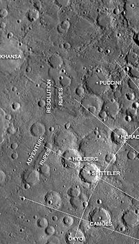 Adventure and Resolution Rupes