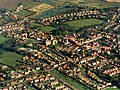 Aerial View of Hedon from the South West - geograph.org.uk - 323642.jpg